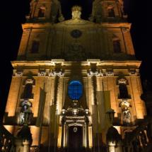 Basilika Gößweinstein bei Nacht