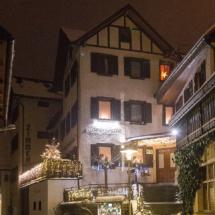 Gästehaus Jutta im Winter
